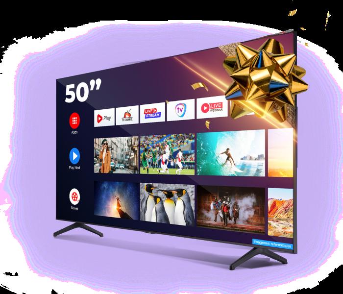 Imagen del premio TV de 55 pulgadas